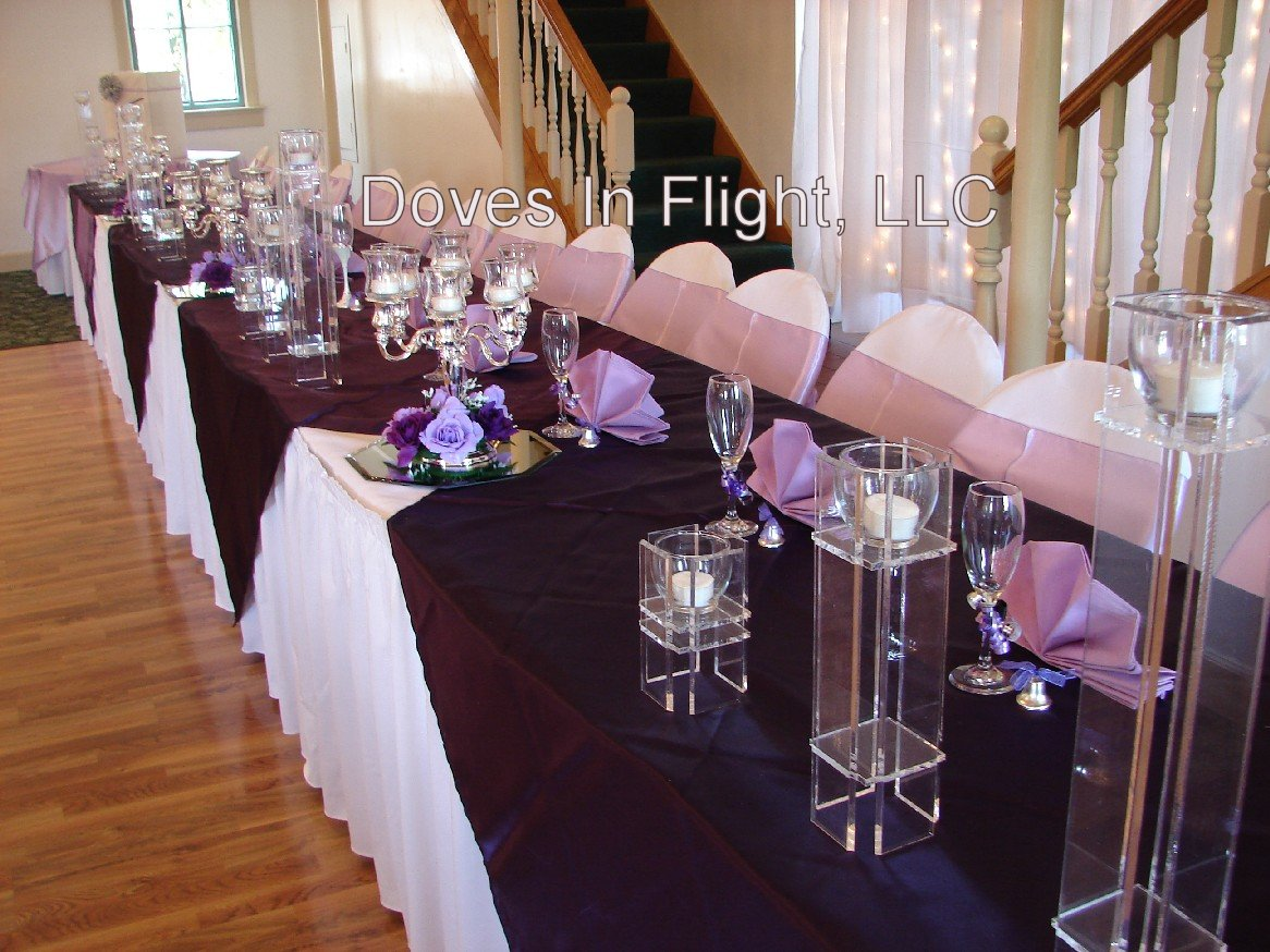 Chair Covers of Lansing: Centerpieces and Florals