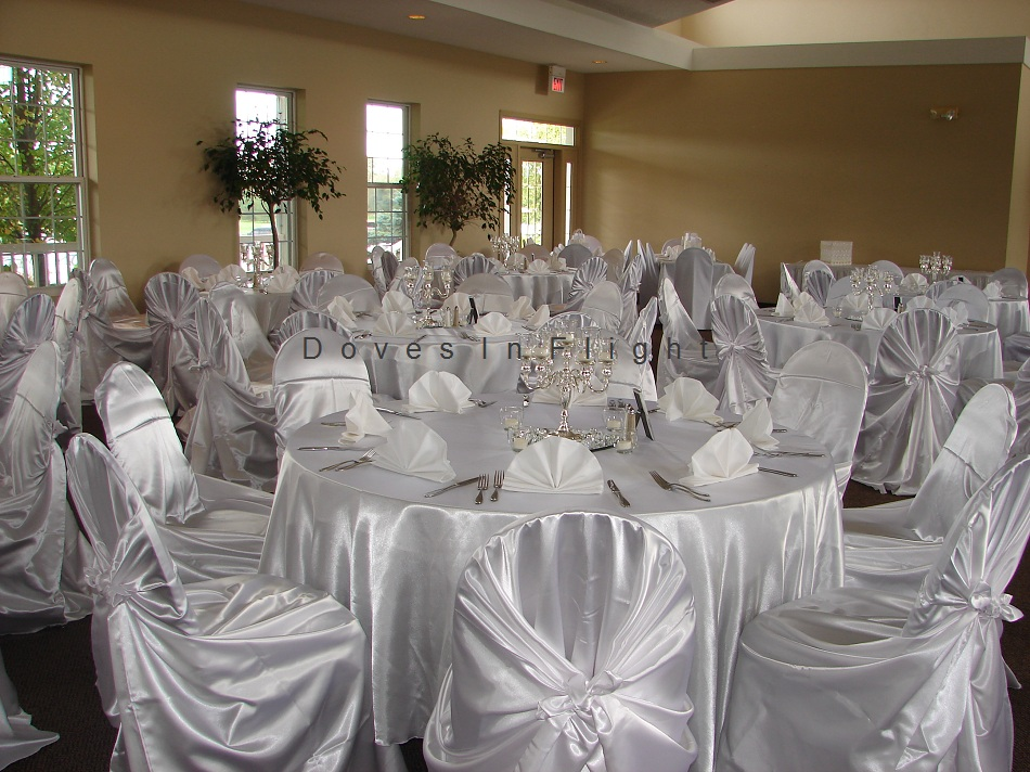 Doves In Flight & Chair Covers of Lansing / Doves In Flight Decorating
