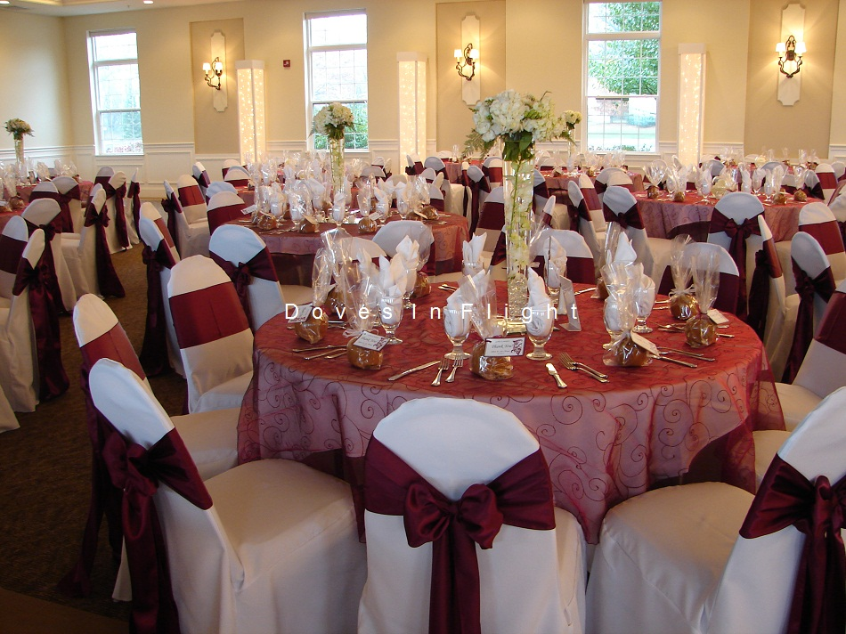 Burgundy Wedding Decoration Ideas Elitflat